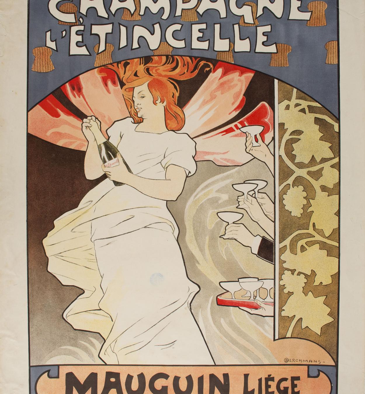 Émile Berchmans - Champagne L'Étincelle - Before 1903