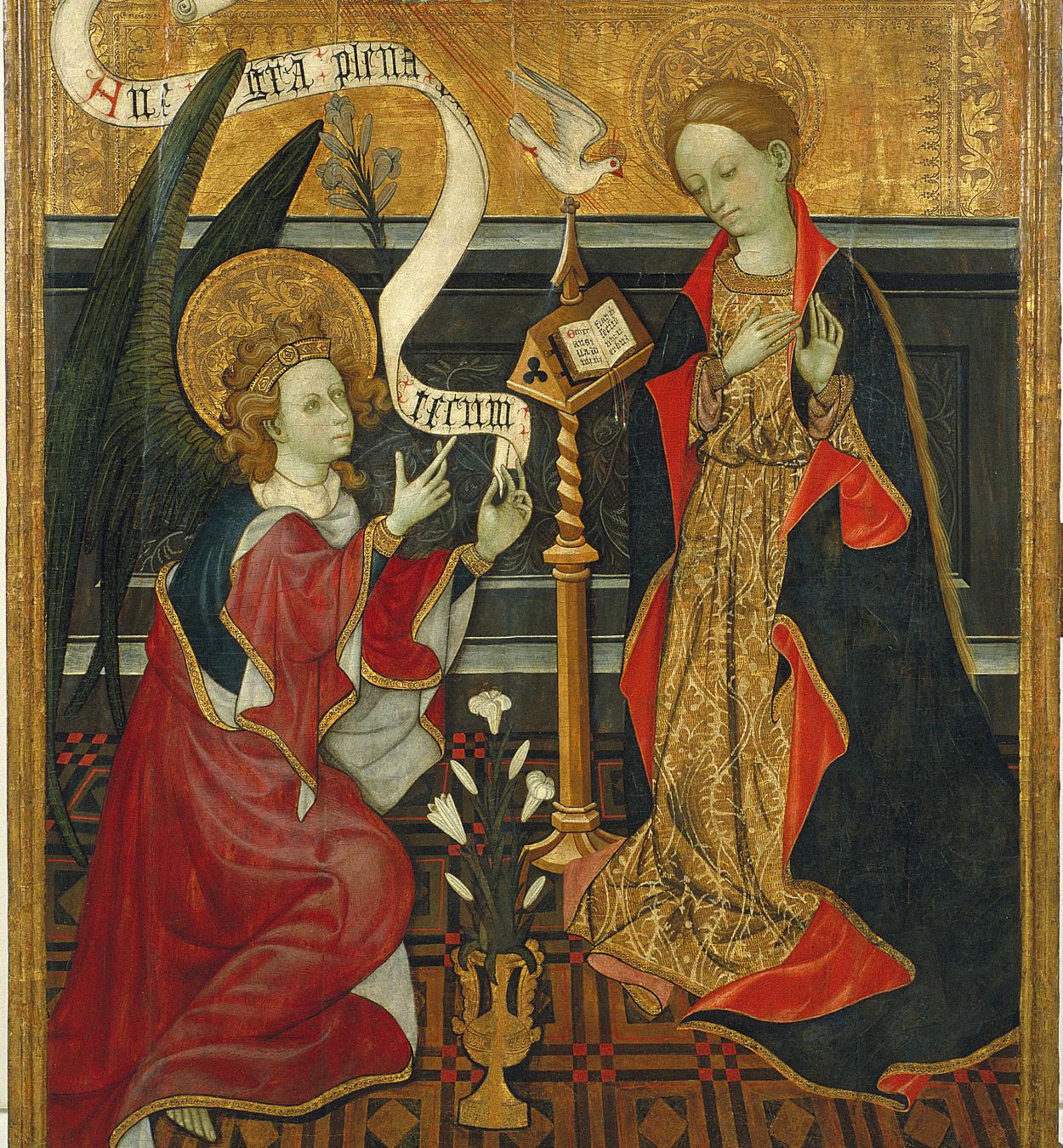 Anònim. València - Anunciació - Cap a 1410-1430