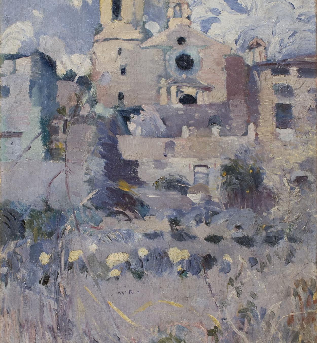 Joaquim Mir - The Parish Church of Maspujols - 1907-1910