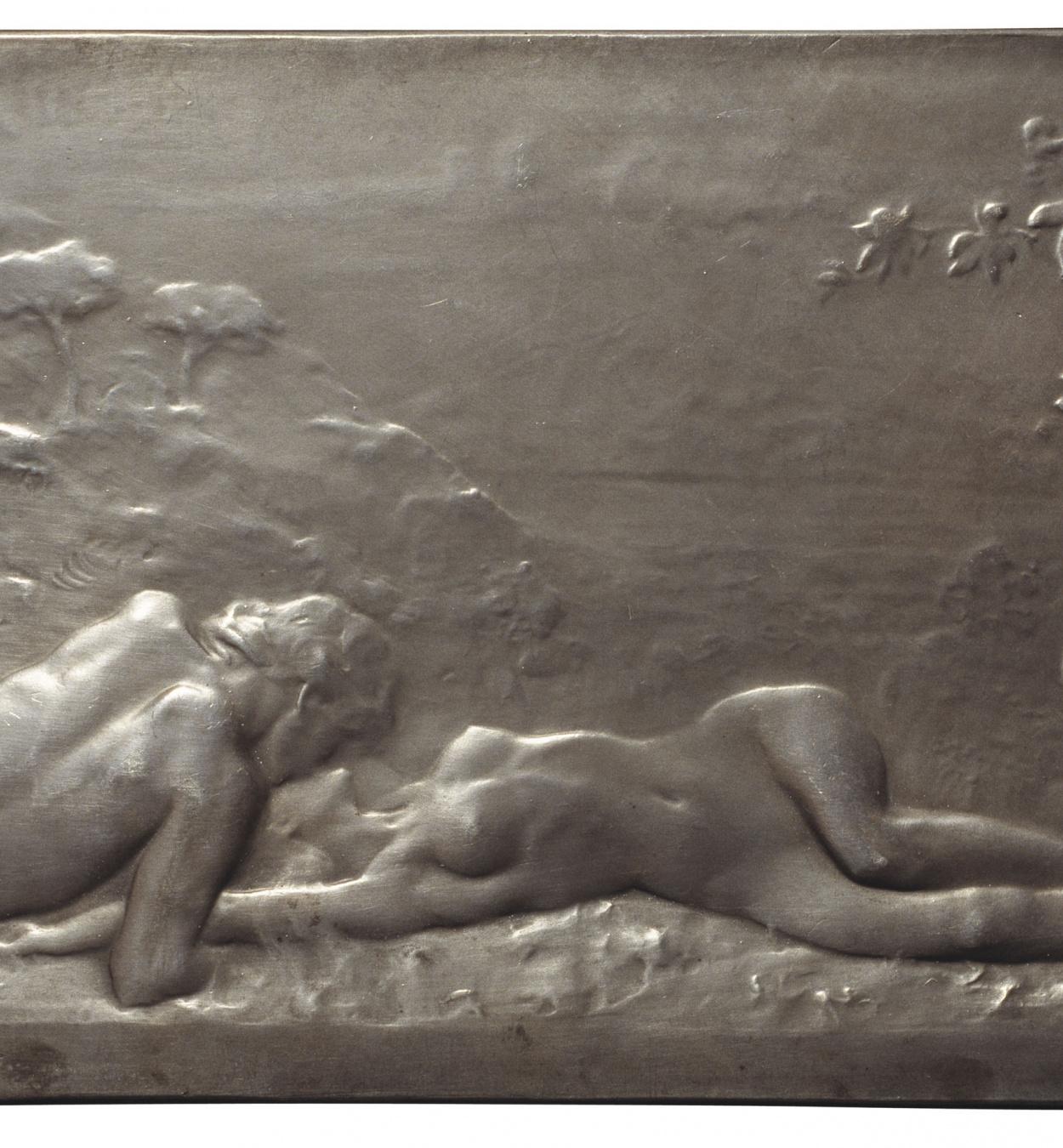 René Grégoire - Le baiser (The kiss) - 1910