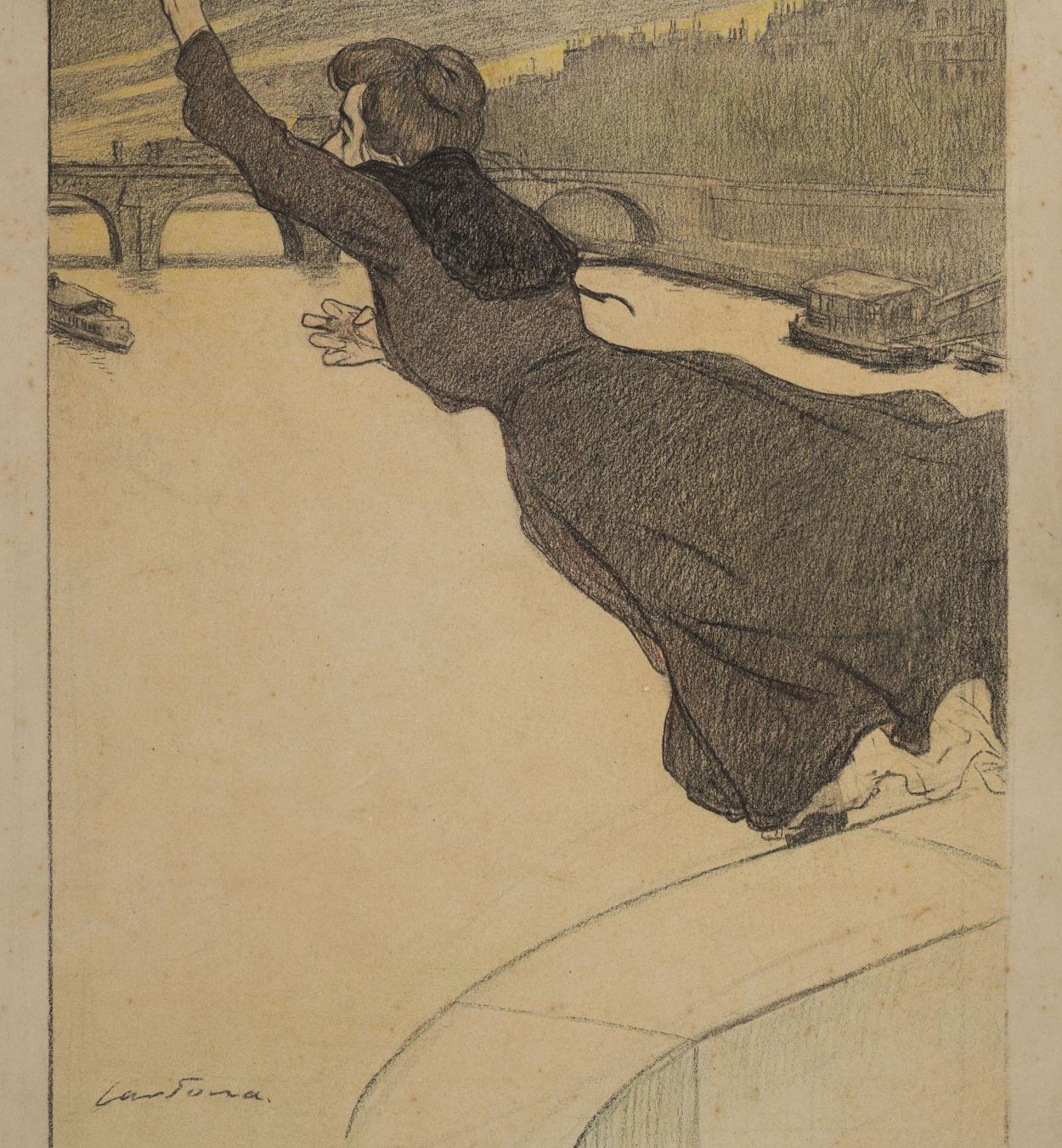 Joan Cardona - Mujer suicida - Hacia 1903