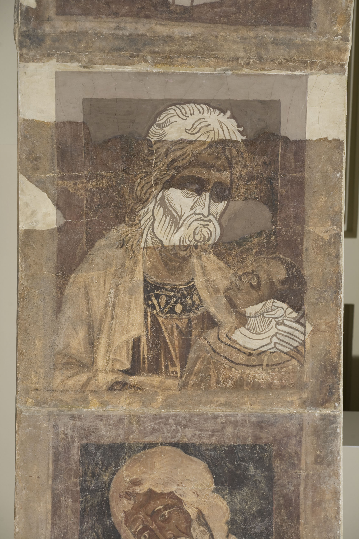 Mestre de la sala capitular de Sixena - De Salmon a Roboam de la genealogia de Crist segons Mateu, de la sala capitular de Sixena - Entre 1196-1200 [4]