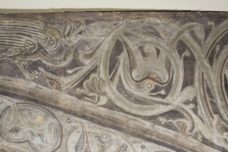 Mestre de la sala capitular de Sixena - Noè construeix l'arca, de la sala capitular de Sixena - Entre 1196-1208 [3]