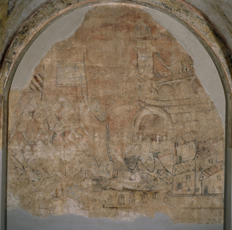 Anònim. Catalunya - Defensa de Girona de Cardona - Posterior a 1285
