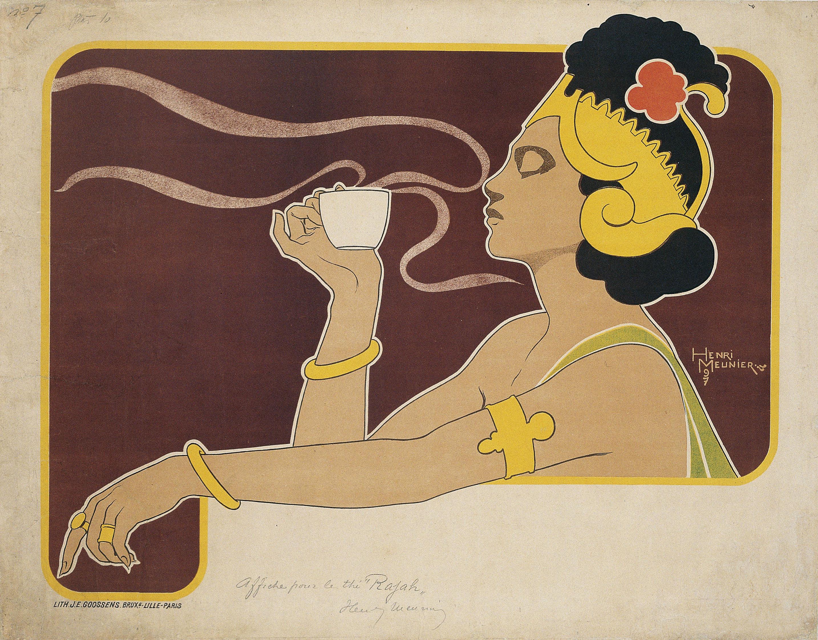 Henri Meunier - Thé Rajah - 1897
