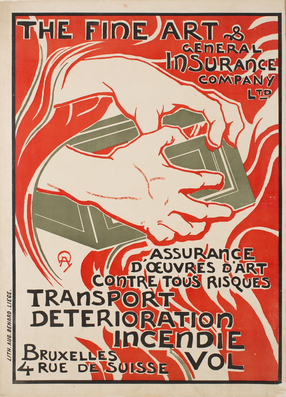 Auguste Donnay - The Fine Art & General Insurance Company Ltd - 1895