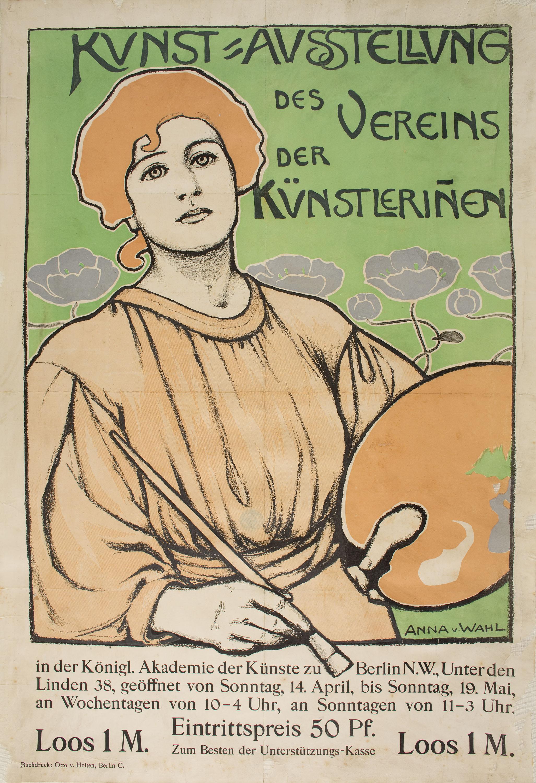 Anna von Wahl - Kunst=Ausstellung des Vereins der Künstleriñen - 1897 o 1901