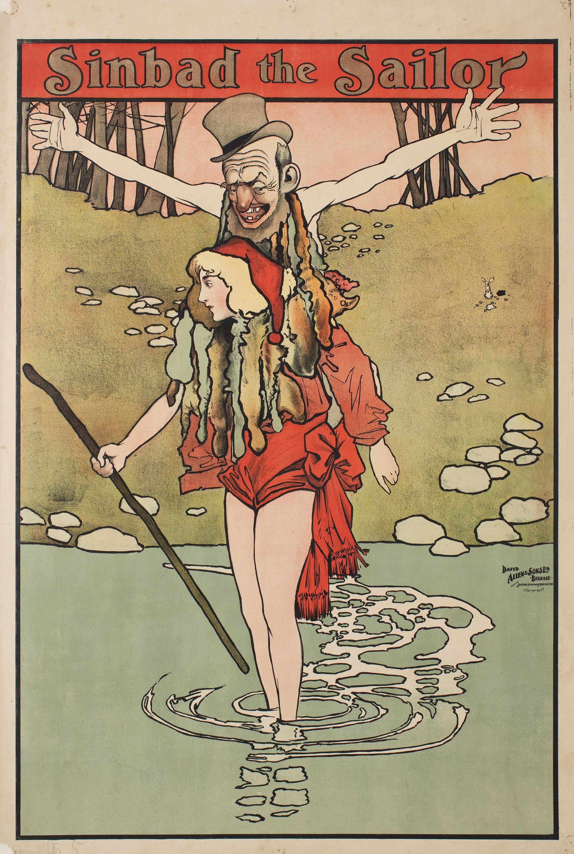 John Hassall - Simbad the Sailor - 1901 o anterior