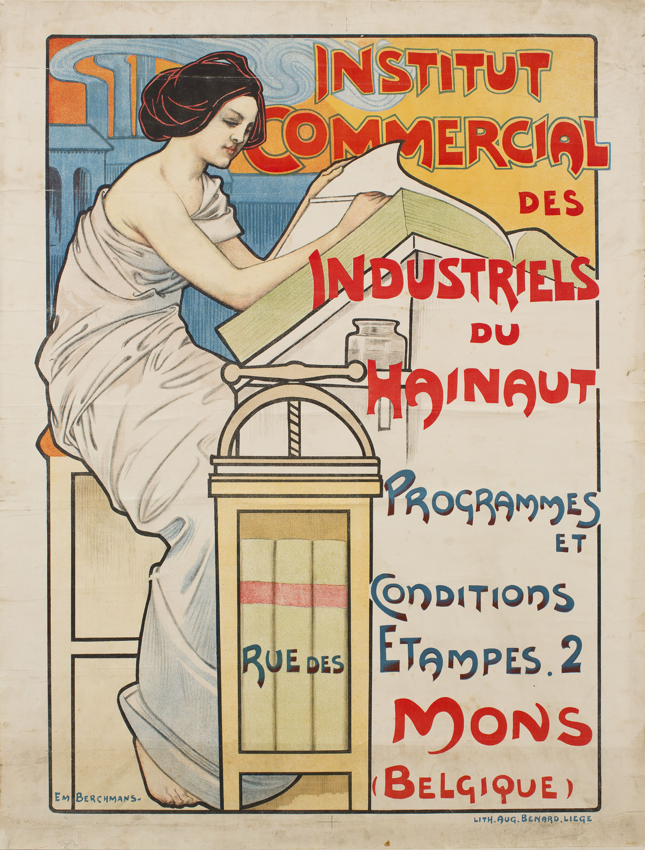 Émile Berchmans - Institut Comercial des Industriels du Hainaut - Before 1903