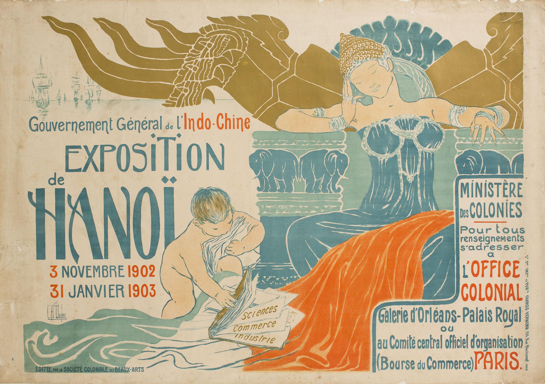 Clementine Hélène Dufau - Gouvernement Général de l'Indo-Chine. Exposition Hanoï - 1902