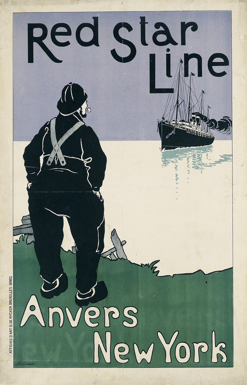 Henri Cassiers - Red Star Line - 1898