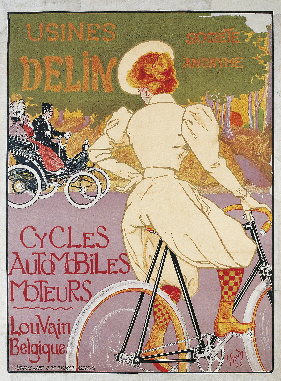 Georges Gaudy - Usines Delin - 1898