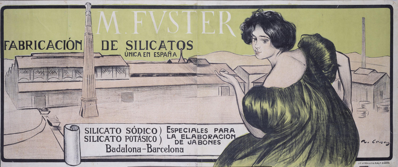 Ramon Casas - M. Fvster. Fabricación de silicatos - 1898