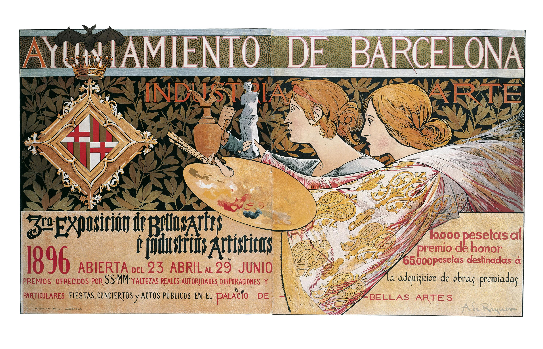 Alexandre de Riquer - 3ra. Exposición de Bellas Artes é Industrias Artísticas - 1896 [1]