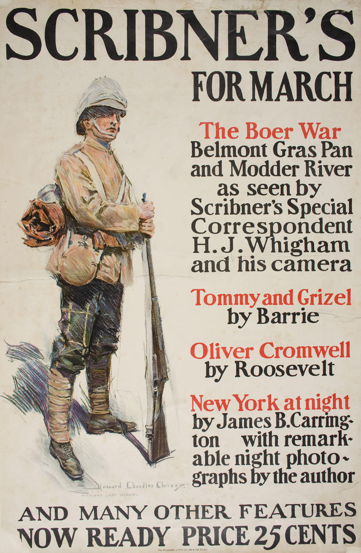 Howard Chandler Christy - Scribner's for March - 1900