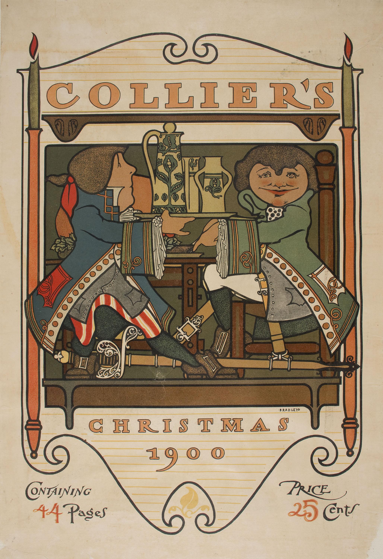 William Henry Bradley - Collier's. Christmas 1900 - 1900