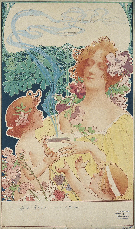 Henri Privat-Livemont - Tropon Chocolat-cacao - 1900