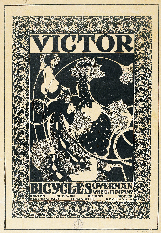 William Henry Bradley - Victor Bicycles - Hacia 1896