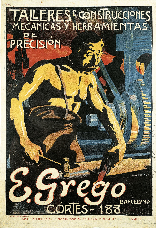Joan Llaverias - Talleres de construcciones mecánicas y herramientas de precisión E. Grego, Barcelona - 1902