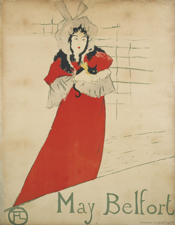 Henri de Toulouse-Lautrec - May Belfort - 1895