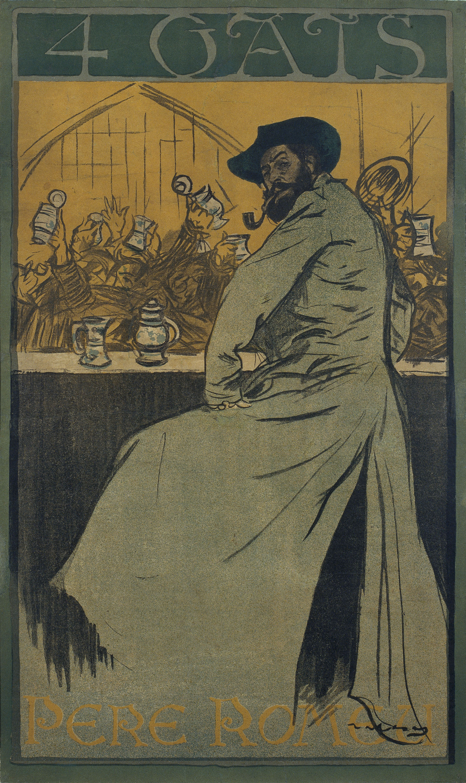 Ramon Casas - 4 Gats - 1900