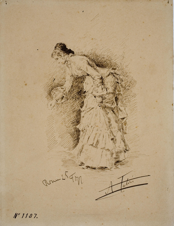 Antoni Fabrés - Dama - 1877