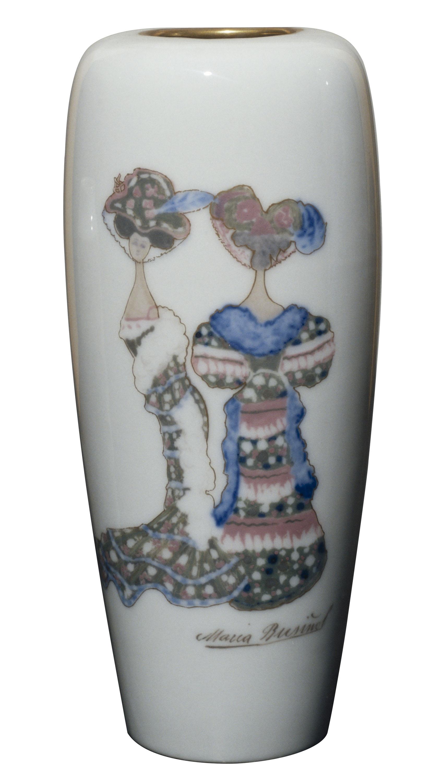 Antoni Serra - Vas decorat amb dues figures femenines - 1901-1907