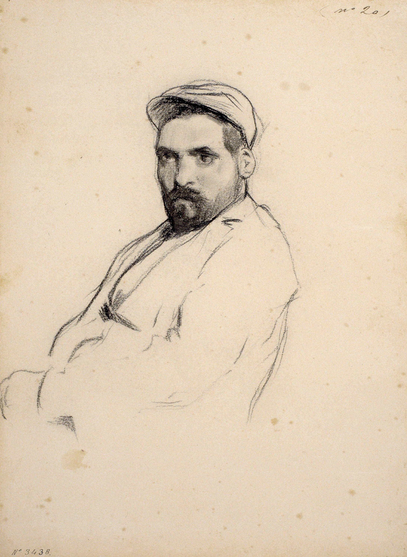 Santiago Rusiñol - Retrat d'home - Cap a 1895-1897