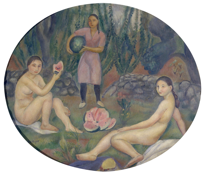 Joaquim Sunyer - The Watermelon - Circa 1920