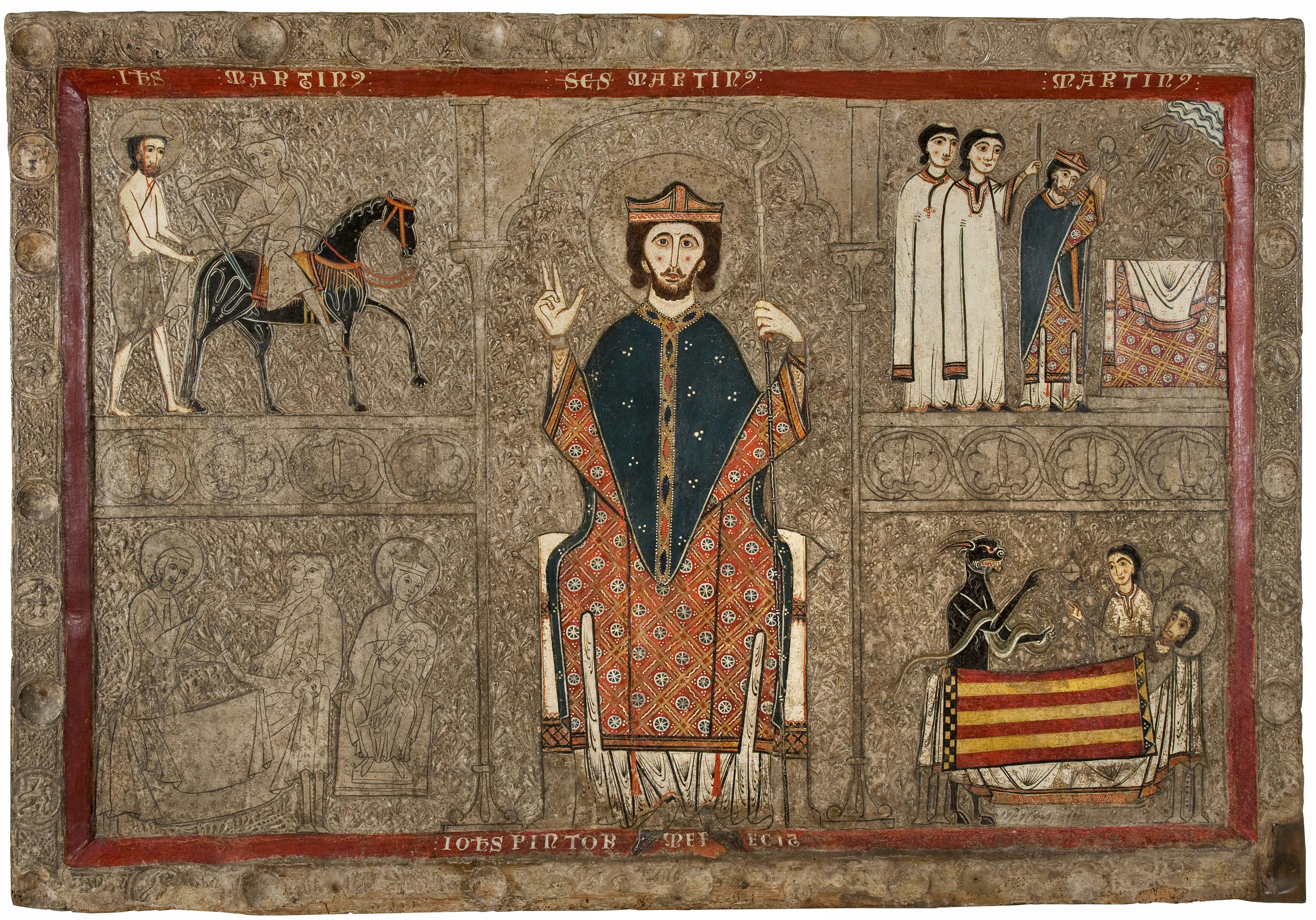 Iohannes. Taller de la Ribagorça - Frontal d'altar de Gia - Segona meitat del segle XIII