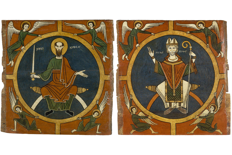 Anònim. Catalunya. Taller de la Seu d'Urgell del 1200 - Laterals d'altar d'Aurós - Segon quart del segle XIII