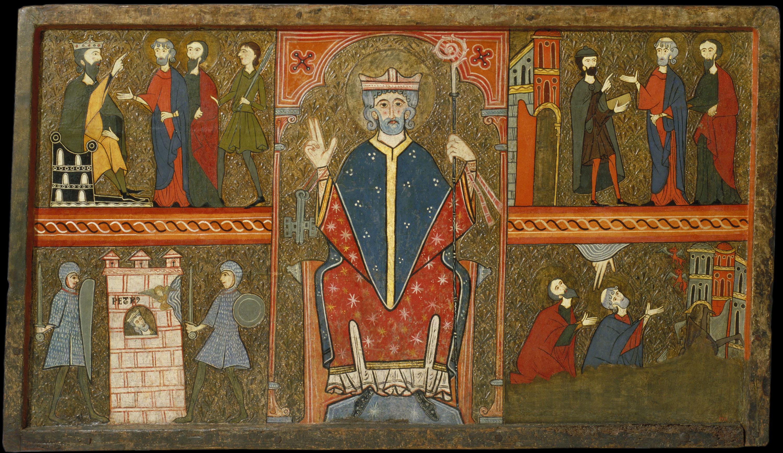 Anònim - Frontal d'altar de Sant Pere de Boí - Segona meitat del segle XIII