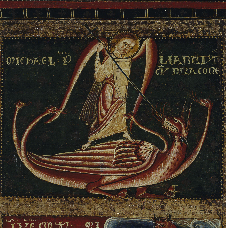 Mestre de Sant Pau de Casserres - Frontal d'altar dels Arcàngels - Segon quart del segle XIII [2]