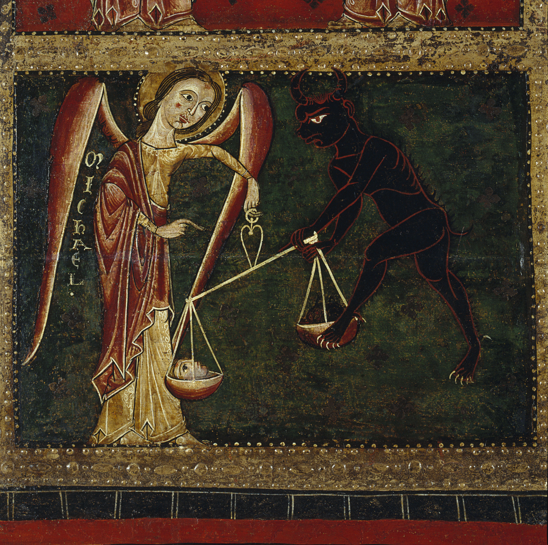 Mestre de Sant Pau de Casserres - Frontal d'altar dels Arcàngels - Segon quart del segle XIII [3]