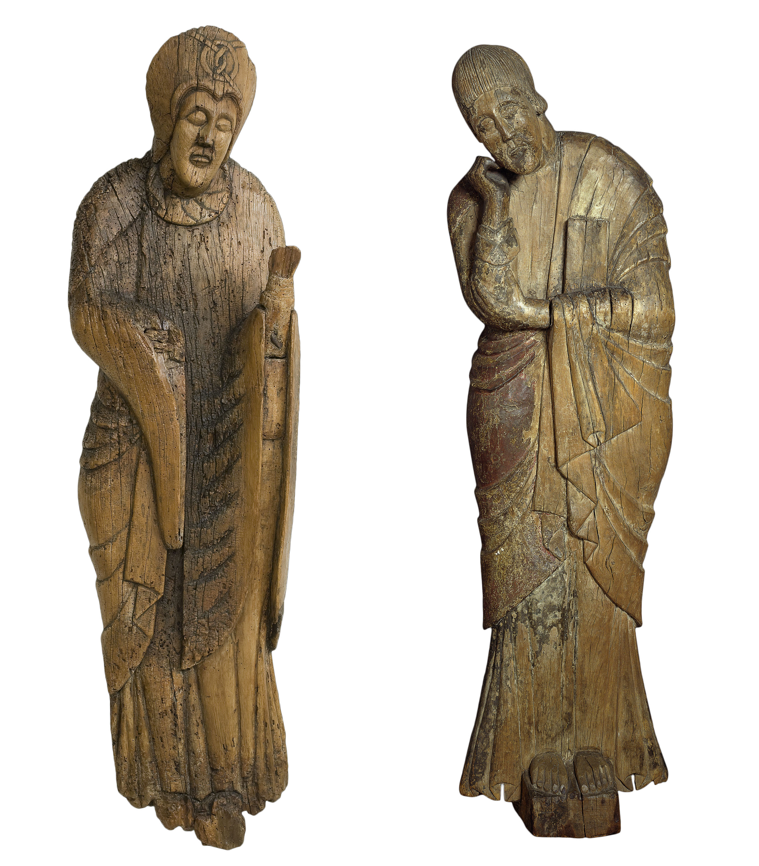 Anònim - Mare de Déu i sant Joan del Davallament d'Erill la Vall - Segona meitat del segle XII