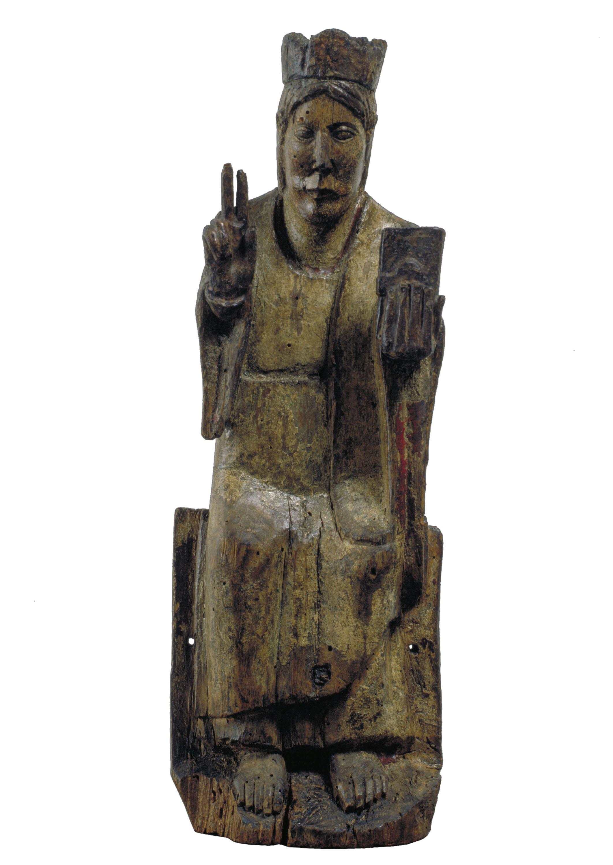 Anònim - Crist en Majestat de Basaran - Cap a 1200