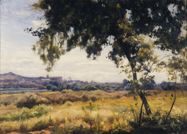 Enric Galwey - Paisatge camperol - Cap a 1900-1915