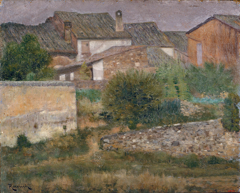 Nicolau Raurich - Un racó de Sant Cugat del Vallès - Cap a 1906