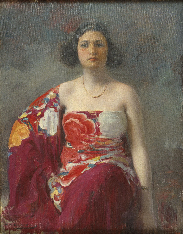 Ramon Casas - Trini - Hacia 1916