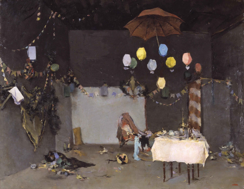 Ramon Casas - Interior de taller - París, cap a 1883