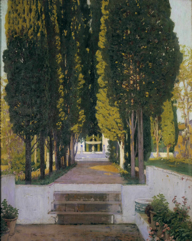 Santiago Rusiñol - Jardí del Generalife - Granada, 1909