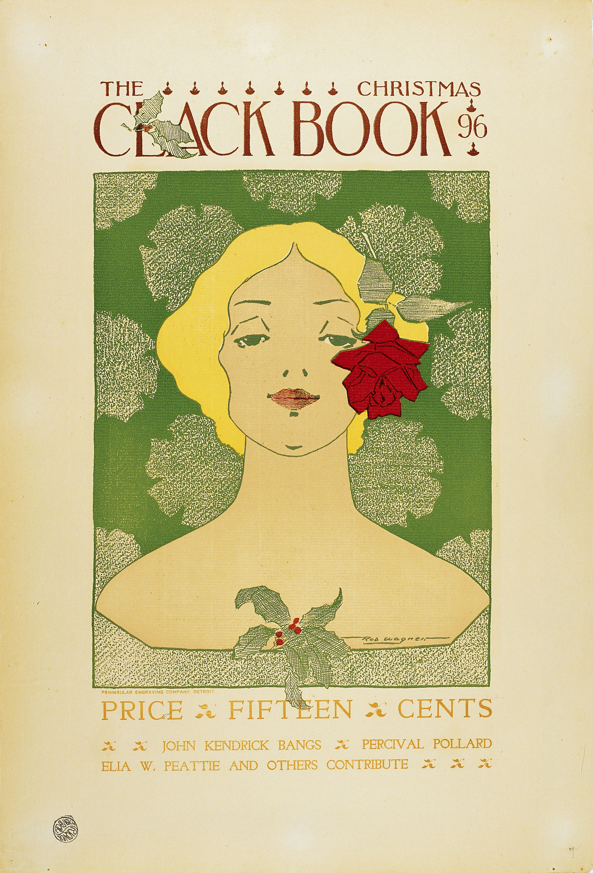 Robert Leicester Wagner - The Clack Book. Christmas 96 - 1896