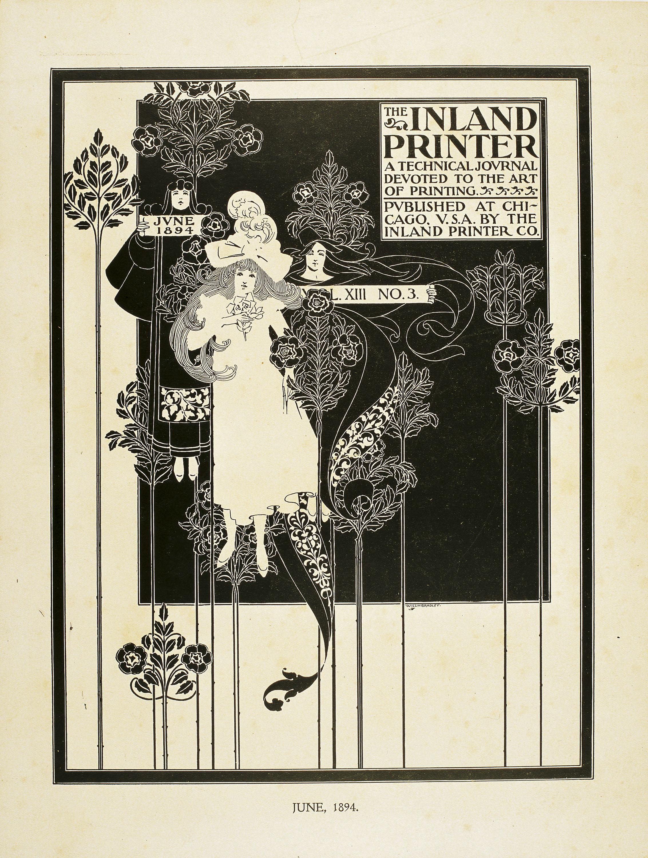 William Henry Bradley - The Inland Printer. June 1894 - 1894