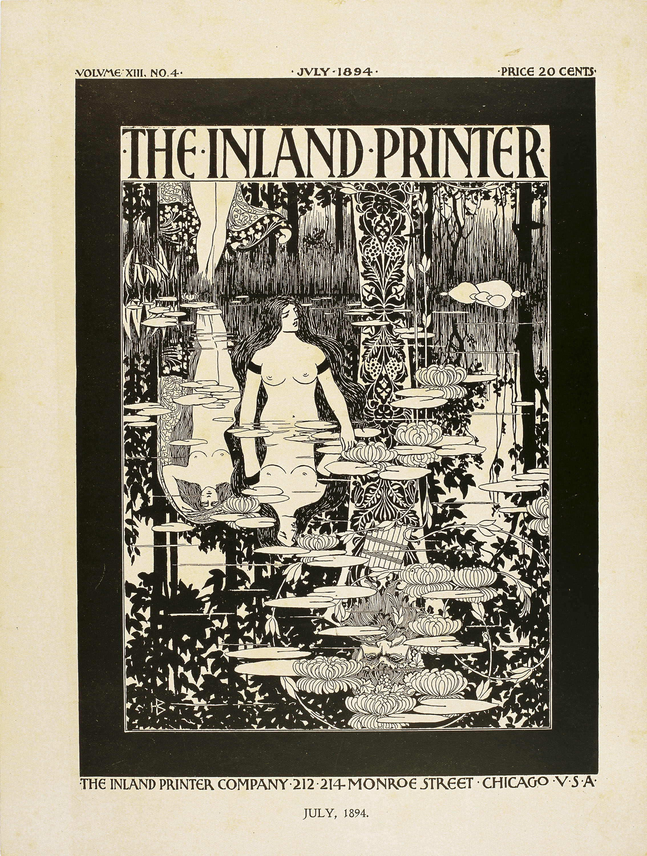 William Henry Bradley - The Inland Printer. July, 1894 - 1894