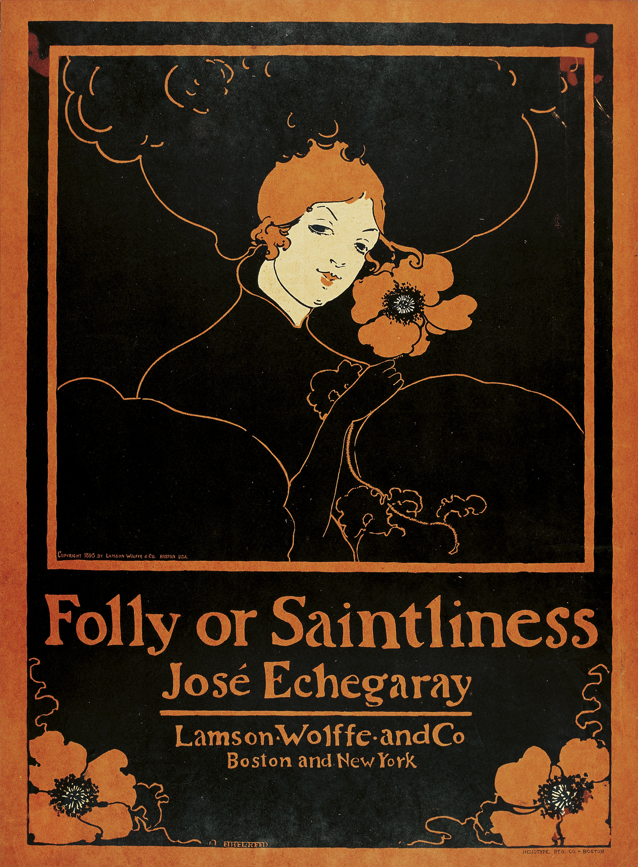 Folly or Saintliness, Ethel Reed, 1895