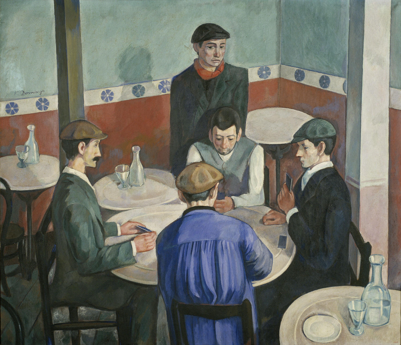 Francesc Domingo Segura - Els jugadors - Barcelona, 1920