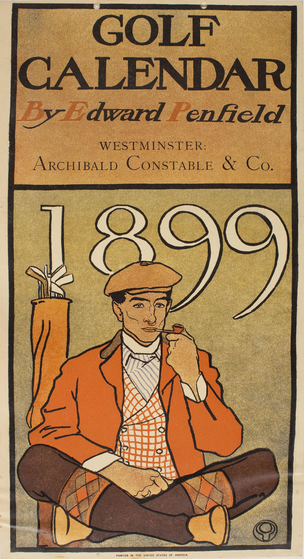 Edward Penfield - Golf Calendar - 1899