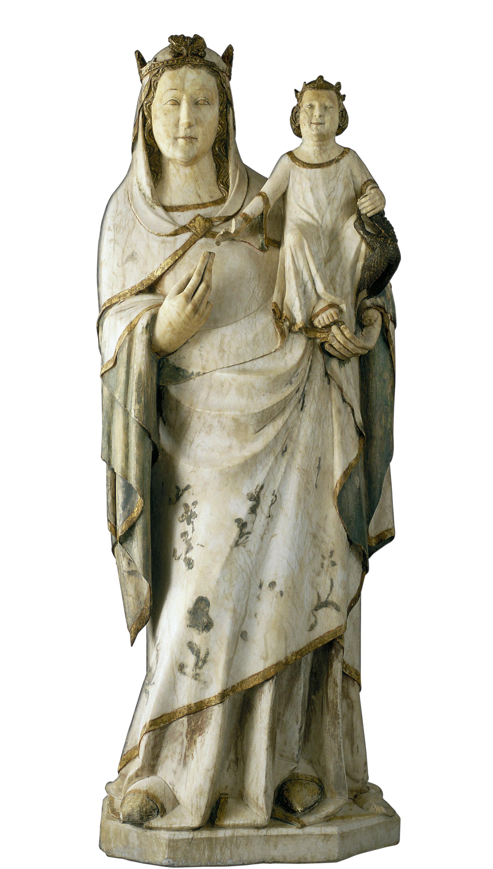 Anònim. Catalunya - Mare de Déu - Cap a 1330-1340