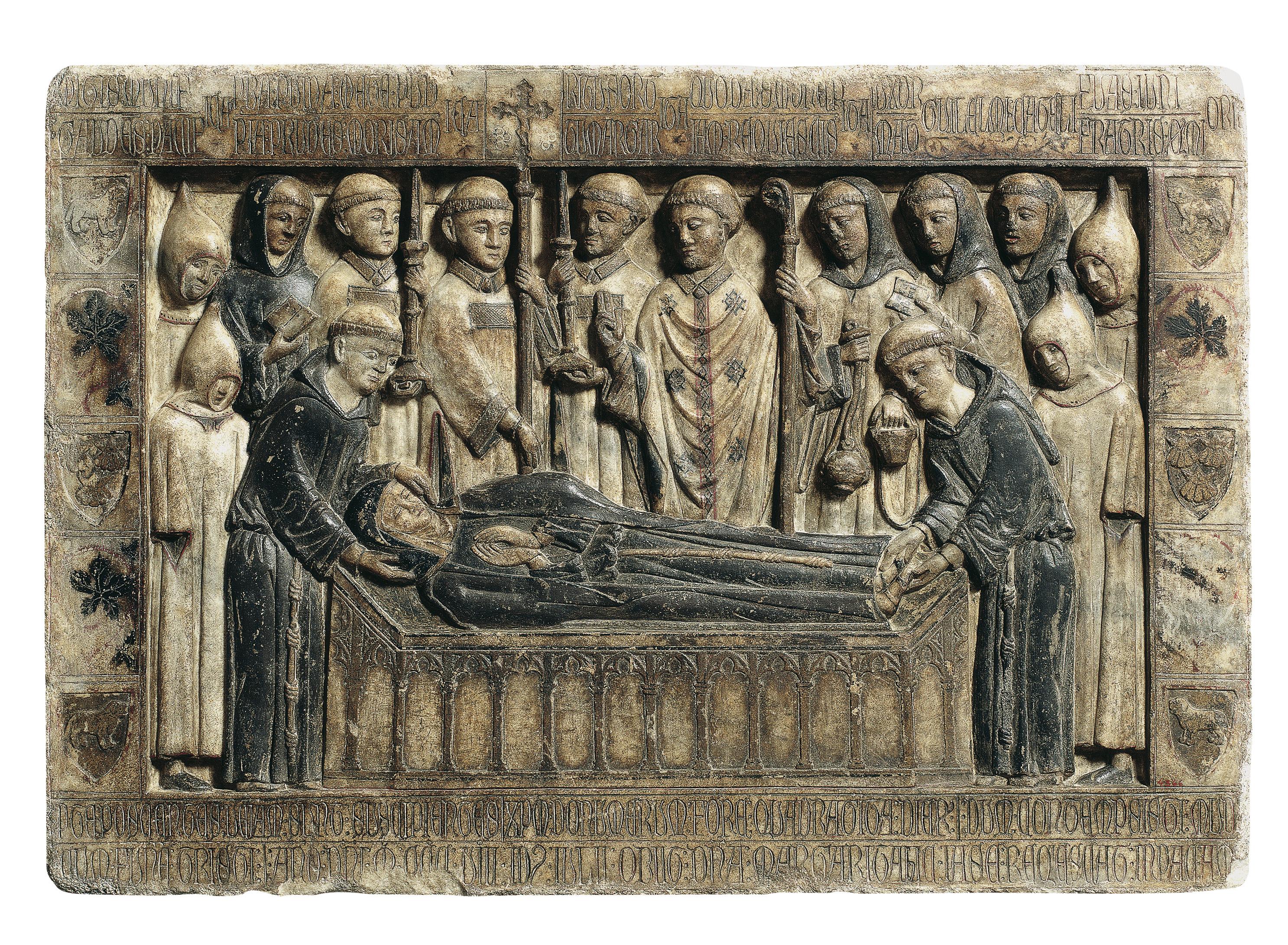 Anònim. Catalunya - Làpida sepulcral de Margarida Cadell (morta el 1308) - Primer quart del segle XIV