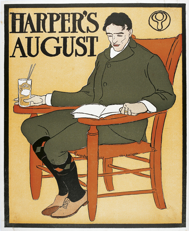 Edward Penfield - Harper's. August - 1898
